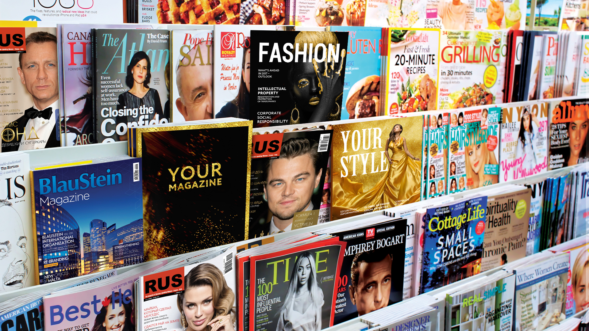 Glamourous Corporate Magazines